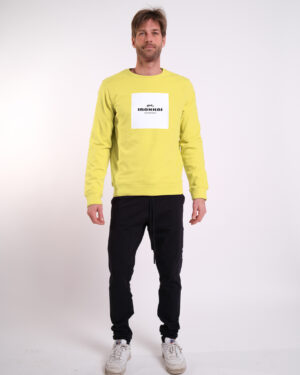 Hai Soft Sweater Men - Big Block White