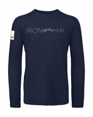 Hai Longsleeve Men- Ironshark