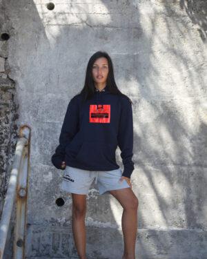 Hai Oversize Hoodie Women – Coral President